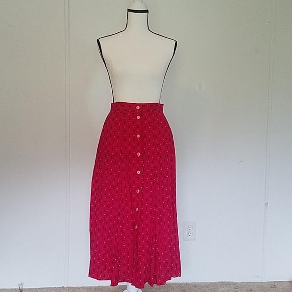 1fc166b9e2 Koret Francisca Skirts | Vintage Hot Pink Pocket Anchors And Stars ...
